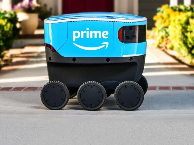 If You See a Human Working With Amazon's Delivery Bots, Give Them Your Feedback