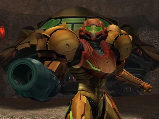 4K version av <i>Metroid Prime 2</i> använder texturer uppskalad av ett neuralt nätverk