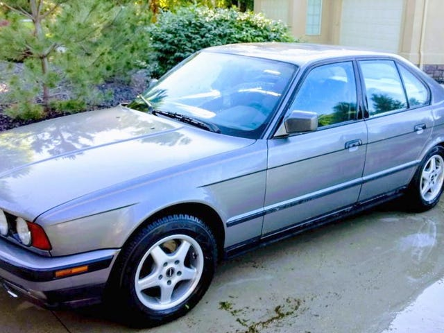 At $1,800, Would You Side With This Mega-Mileage 1991 BMW 535i?
