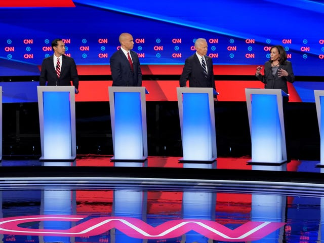 Here's What You Missed From Round Two of the Democratic Presidential Debates in Detroit