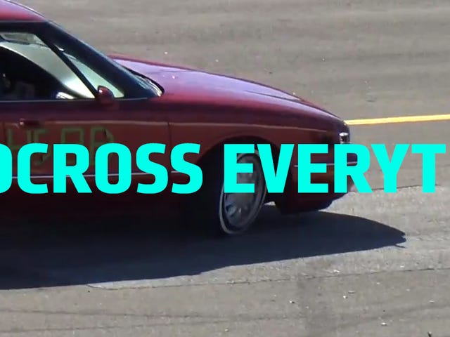 Watch This Dude Autocross An Oldsmobile Like A Champion