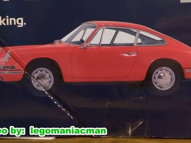 Visible Porsche Boxer Engine