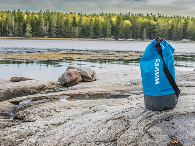 Get Two Free Forever Cold Water Bottles When You Buy A WavesGear Dry Bag ($34)