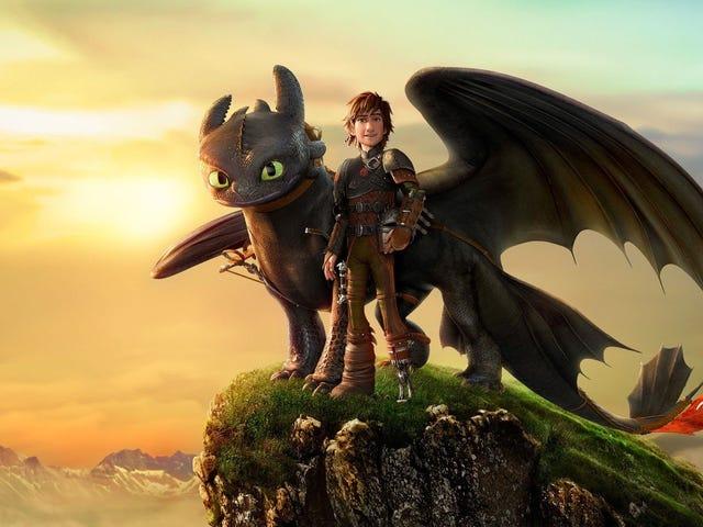 Como Entrenar a Tu Dragón 3 - Primer Trailer + Poster