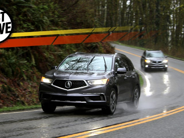 The 2017 Acura MDX Sport Hybrid Really Does Feel Related To The NSX