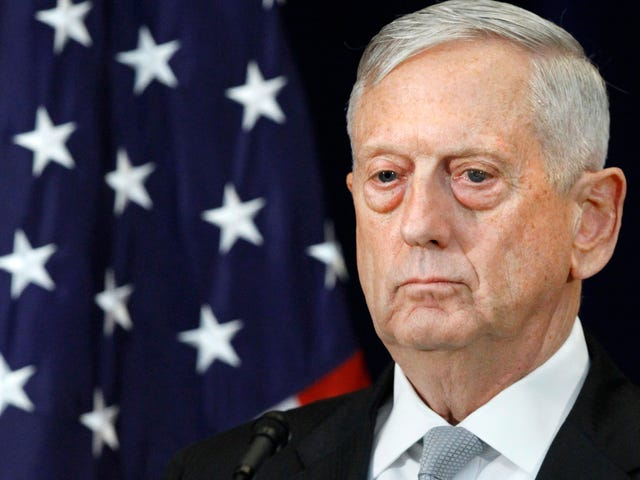 Mattis Permits Transgender Troops to Continue Serving in the Military While He Waits on Study Results