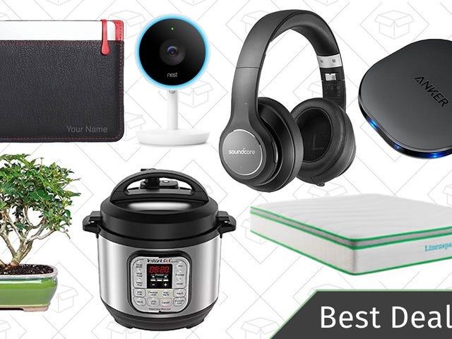 Wednesday's Best Deals: Instant Pots, Foam Mattresses, Nest Cams, and More