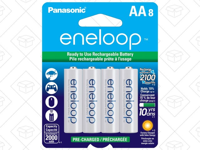 The Best Rechargeable Batteries Are Back On Sale