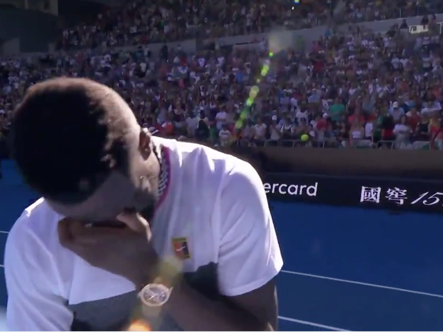Frances Tiafoe Breaks Down In Tears After Advancing To Australian Open Quarterfinals On His 21st Birthday