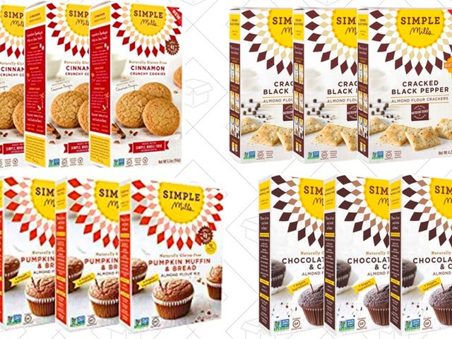 Save 20% On Gluten-Free Crackers, Cookies, and Muffin Mixes