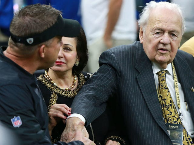 Whew, Tom Benson's Estate Battle Was Ugly And Sad As Hell