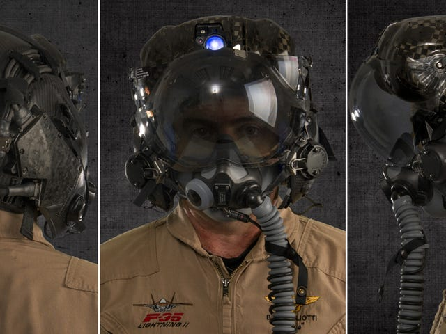 The $400,000 F-35 Pilot Helmet Can See Through the Pilot's Aircraft