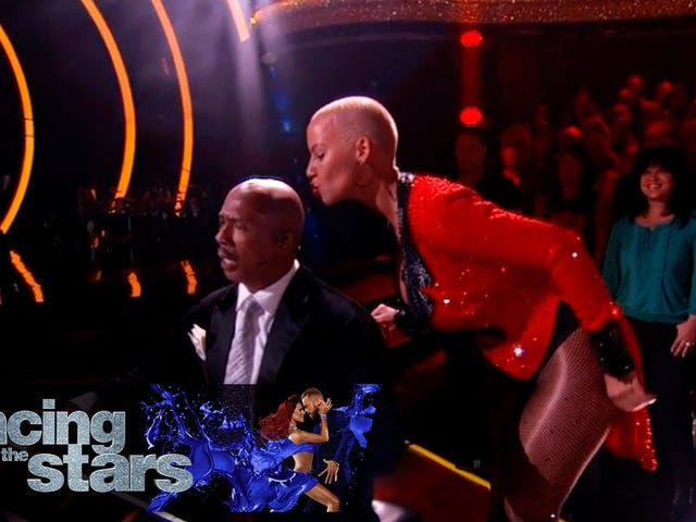 Amber Rose se fait élire en Dancing With the Stars devant Pitbull