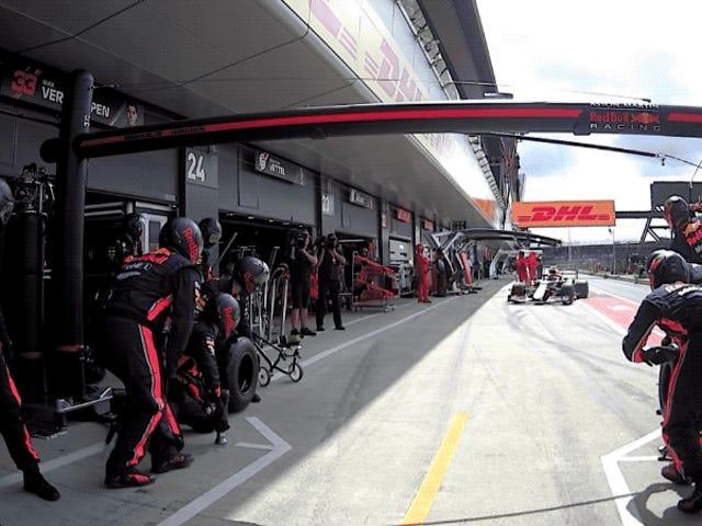 Esta es la parada en boxes más rápida en la historia de la Fórmula 1