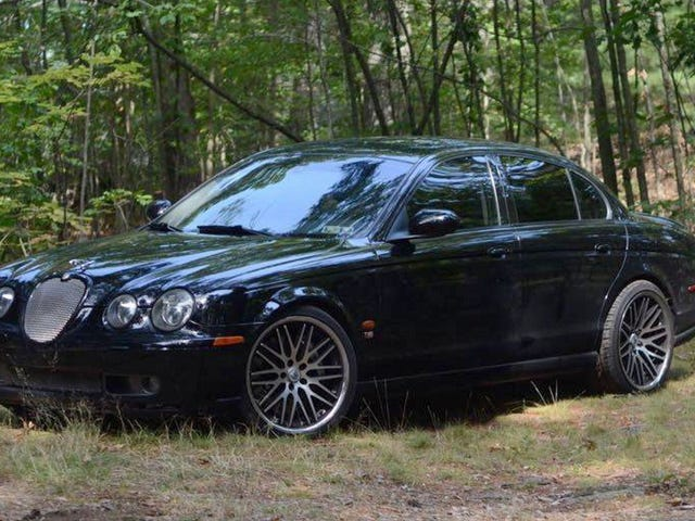 At $9,500, Could This 2003 Jaguar S-Type R Turn You Into a Cat Lover?