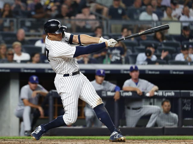 Giancarlo Stanton Set A Record For The Hardest-Hit Home Run