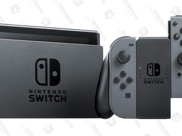 Nintendo's Selling Certified Refurbished Switches For $25 Off, With a Full Warranty