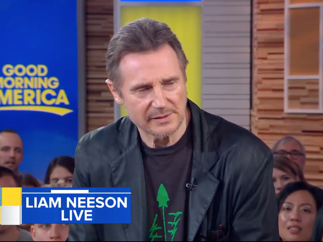 Liam Neeson Explains Why There's No Such Thing as Racism