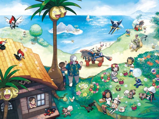 Skaperne av Pokémon Forklar hvorfor Sun and Moon har lekre Monster Designs