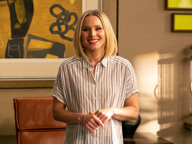 Eleanor duda de su aptitud para liderar en The Good Place
