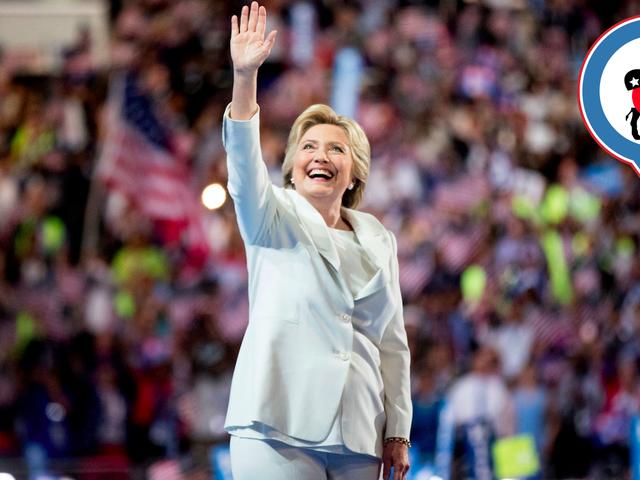 Kung ano ang gusto Niyang makita si Hillary Clinton Tanggapin ang kanyang Nominasyon