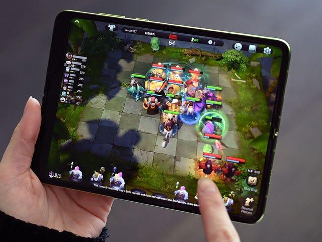 Samsung en ligne par défaut des réserves du Galaxy Fold