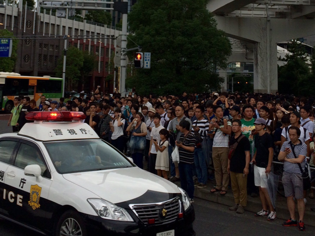 Police Dealing With <i>Pokémon Go</i> Chaos In Tokyo