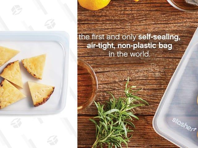 Säästä paljon näissä ympäristöystävällisissä ja alennushintaisissa uudelleenkäytettävissä ruokalaukkuissa, vain tänään