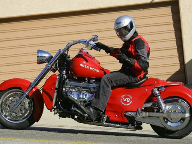 Motorcycle for ImmoralMinority