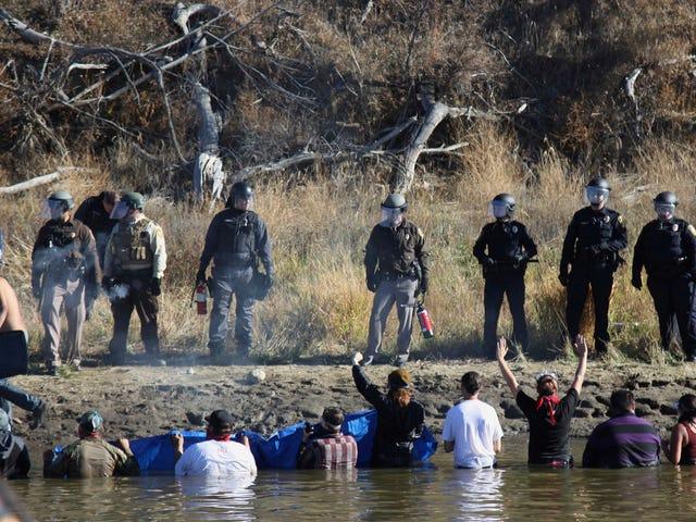 Dakota Access Protestors könnten 110 Jahre im Gefängnis sitzen