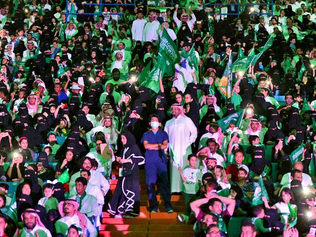 Saudi Arabia To Lift Restriction Banning Women From Sports Stadiums