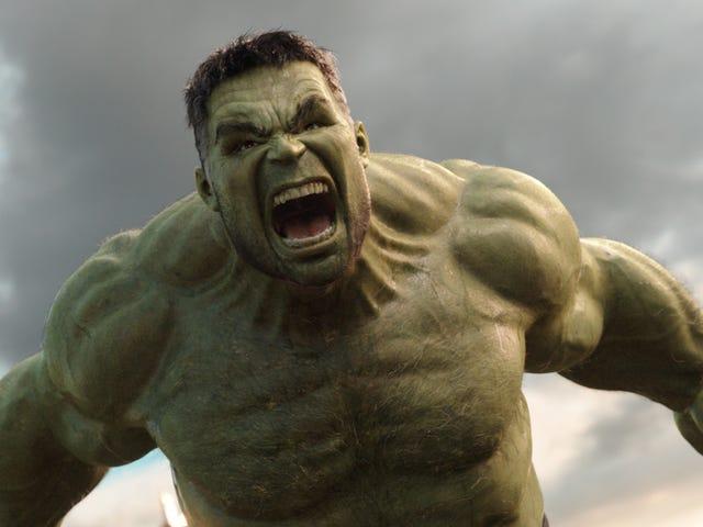 La verdadera razon por la que Hulk é verde.  Não, não tem que ver com mutación