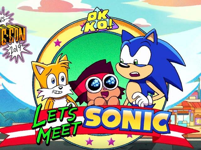 Sonic sẽ đến với OK KO, và những cái nhìn đầu tiên về các chương trình mới nhất và trở lại của Cartoon Network