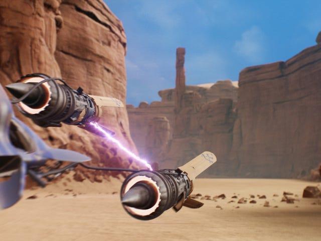 Det er Episode I: Racer , Remade i Unreal Engine 4