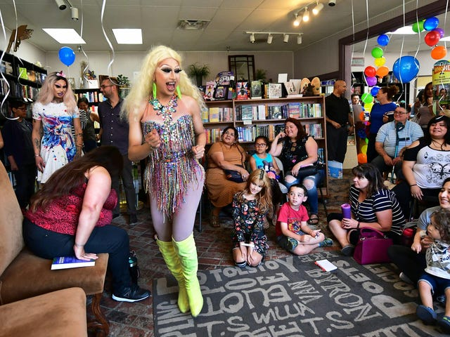 Take Your Kids to Drag Queen Story Time