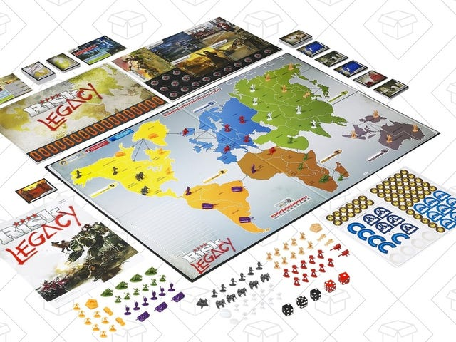 Alter Your Perception of Board Games With Risk Legacy, Now Under $40
