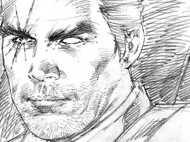 This Sketch of Josh Brolin as Cable Makes Us Even More Excited for Deadpool 2