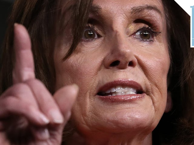 Nancy Pelosi vuole bloccarlo (bloccalo, chiudilo su)