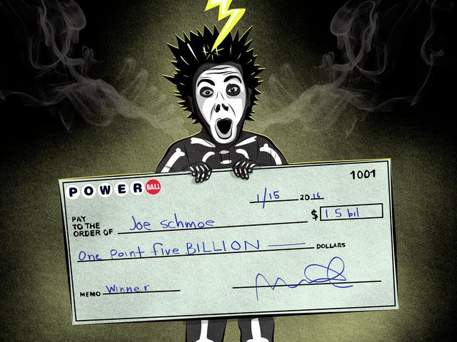 यदि आप वास्तव में आज रात की पावरबॉल जैकपॉट जीतते हैं, तो पैसे का क्या करें