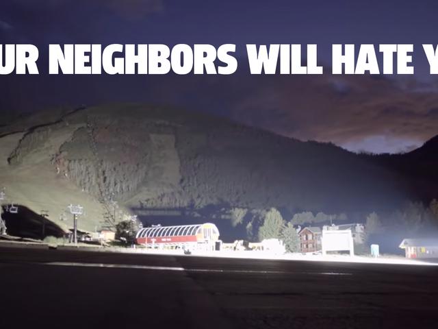 Kaikkien aikojen kirkkain LED-kuorma-autovalopalkki saa naapurisi vihaamaan sinua