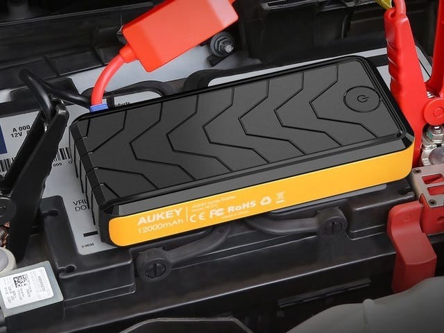 Don't Get Stuck Without This $35 Jump Starter Battery Pack