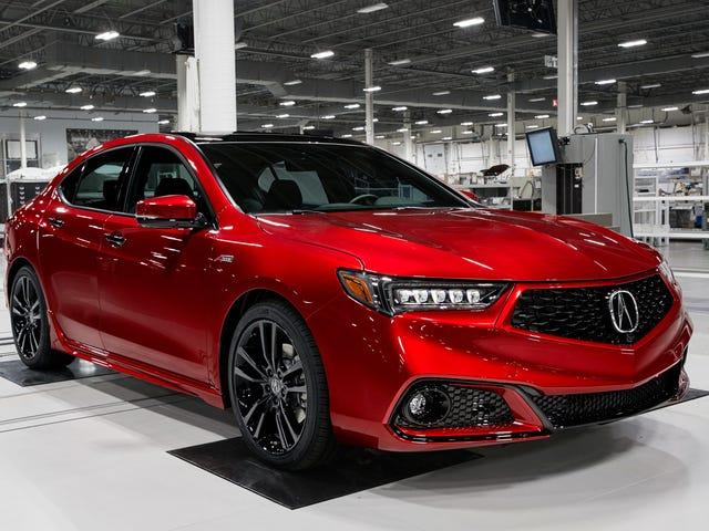 Hvilken af jer kalkuner mister $ 50.000 på en håndbygget Acura TLX?