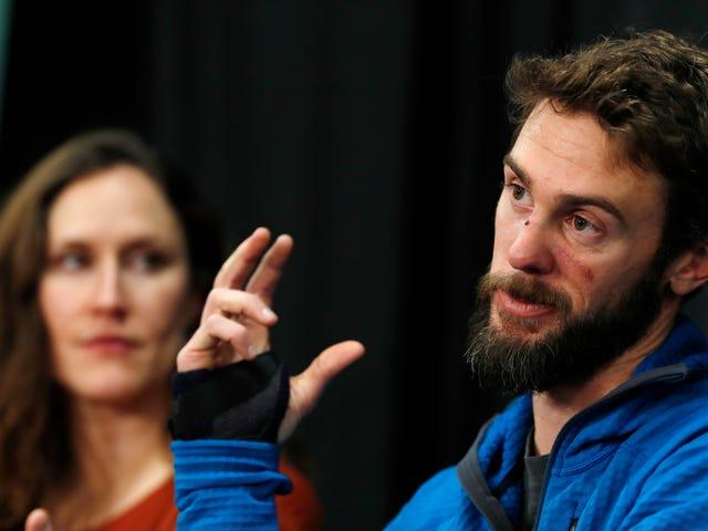 """""""No soy Chuck Norris"""": el corredor que estranguló con sus manos a un puma relata cómo fue la terrible experiencia"""