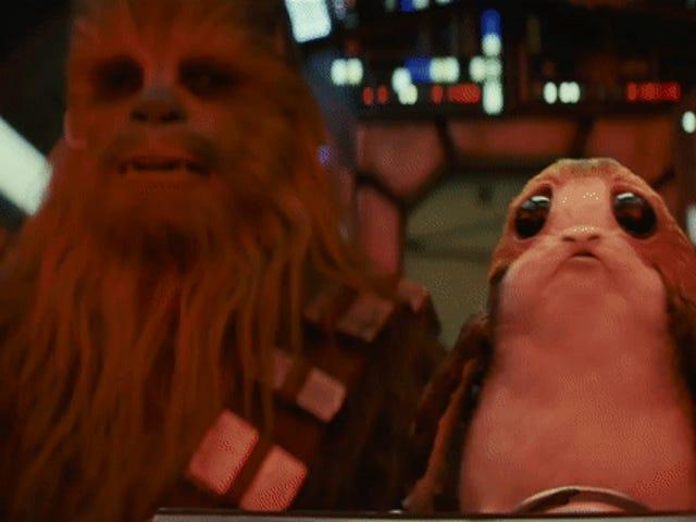 Por qué los adorables Porg de <i>The Last Jedi</i> fueron una absoluta pesadilla durante el rodaje del film