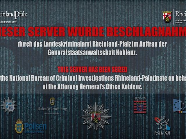 Un centre de données sur les raids de la police allemande et un prétendu centre de lutte contre la cybercriminalité basés dans l'ancien bunker de l'OTAN