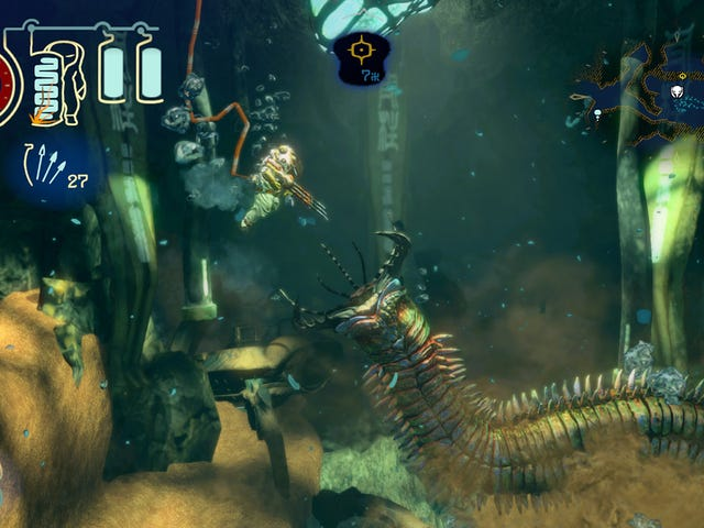 Capcom의 멋진 수중 2D 액션 어드벤처 Shinsekai : Into The Depths