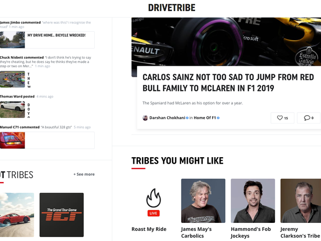 Remember DriveTribe? It Burned Through $16 Million In Two Years