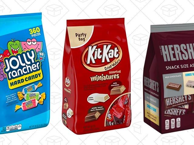 Bespaar 10% op deze feestelijke zakken met snoep