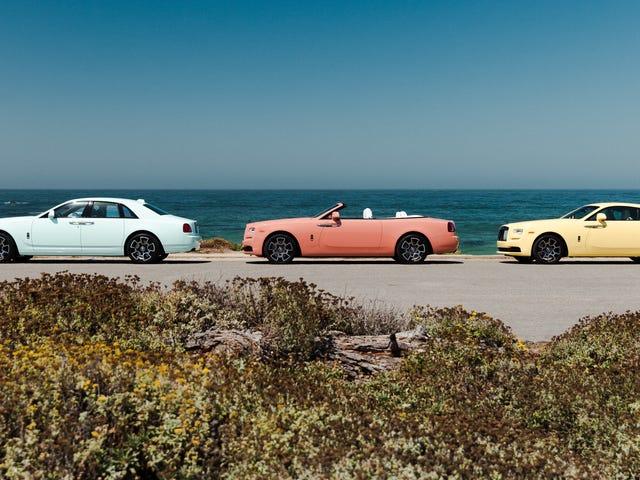 Rolls-Royce siger 'Helvede Ja' til sommerpasteller