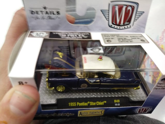 Chase M2 '55 Pontiac police car for trade